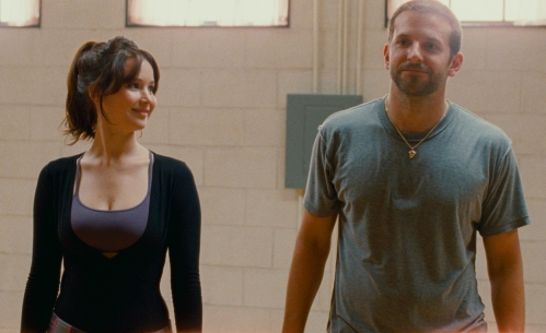 Jennifer Lawrence and Bradley Cooper in Silver Linings Playbook (The Weinstein Company)